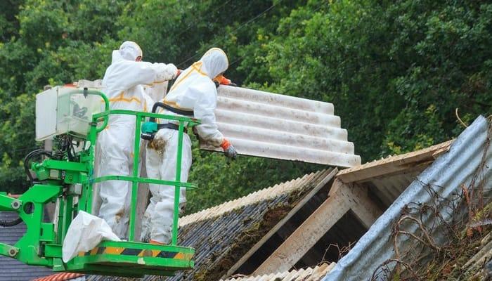 commercial building asbestos removal